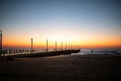 Durban North Peer at sunrise