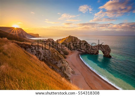 Durdle Door, Dorset, Jurassic Coast, England, UK