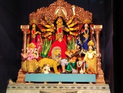 DURGAPUJA. India's largest festival. Specially greatest festival of hindus.