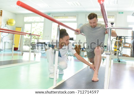 during a mobility therapy