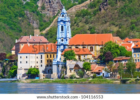 Durnstein is one of the most visited tourist destinations in the Wachau region.