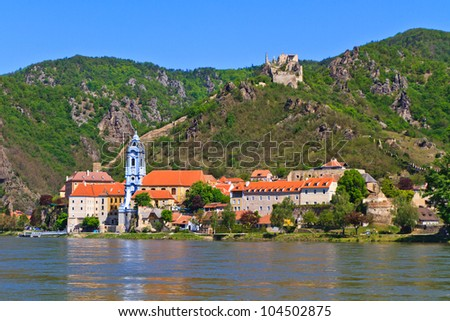 Durnstein is one of the most visited tourist destinations in the Wachau region and also a well-known wine growing area.
