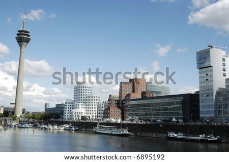 Dusseldorf Media-Harbor Germany