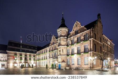 Dusseldorf rathaus or city hall plaza  #238537849