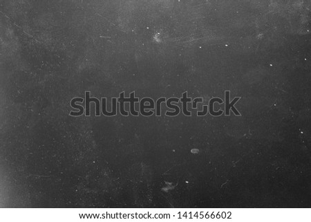 Dust and scratches design. Gray abstract background. Distressed photo editor layer. Copy space.