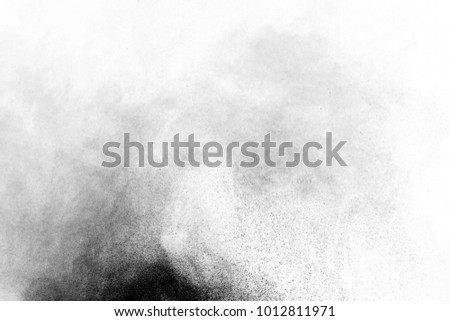 Dust background / Dust are fine particles of matter. It consists of particles in the atmosphere that come from various sources such as soil, dust lifted by weather, volcanic eruptions