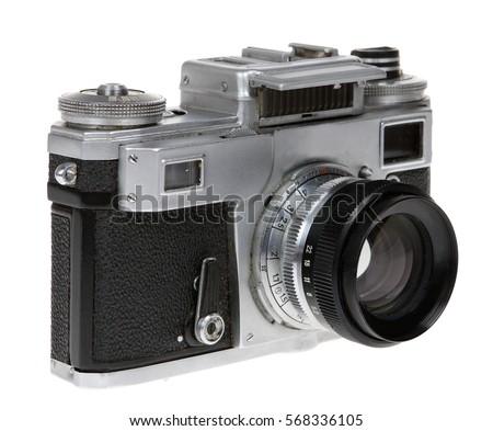 Dusty old Soviet camera