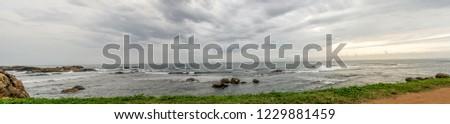 Dutch fort, Galle, Sri Lanka, Sunset panorama #1229881459