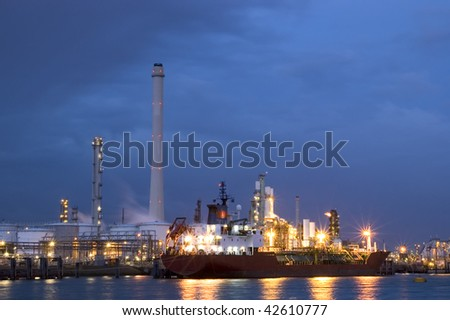 Dutch oilrefinery