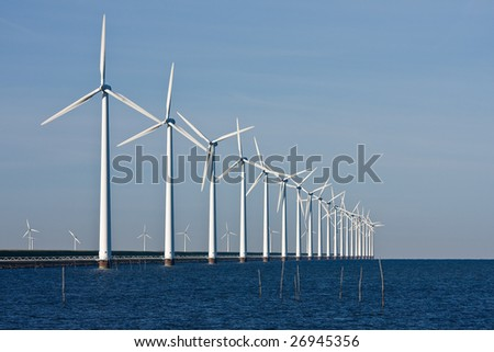 Dutch Power, wind-turbines in the sea