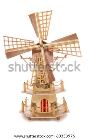 Dutch windmill ornament studio cutout
