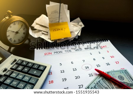Duty to clear, manage or pay for expenses, it's important of account and finance department of company. By collected receipts, document or slip in order to complete record on time for correct payment #1551935543