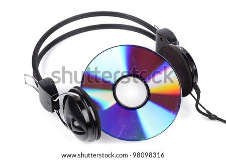 DVD and headphone