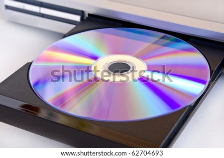 dvd disk insert to dvd player