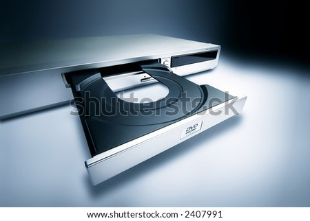 DVD Player - stock photo