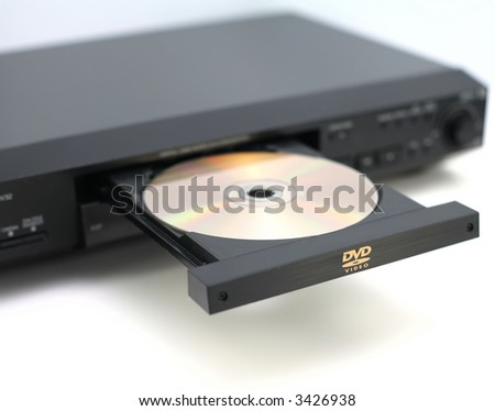 DVD player disc