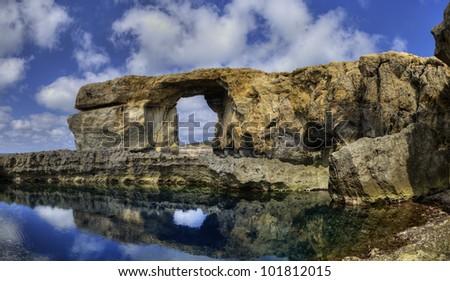 Dwejra, Azure Window, Gozo.