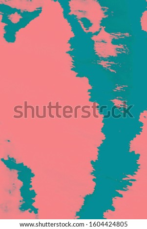 Dye Bohemian. Smudge Pattern. Watercolor Smear. Psychedelic Colors Wallpaper. Vintage Rustic Natural Canvas. Ethnic Cloth Dirty Art. Pink, Cyan, Blue Dye Bohemian.