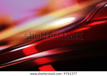 Dynamic abstract blurred background, shallow DOF.
