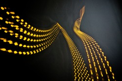 dynamic abstract lights