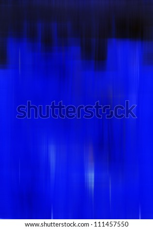 Dynamic Black and Blue Blurry Background