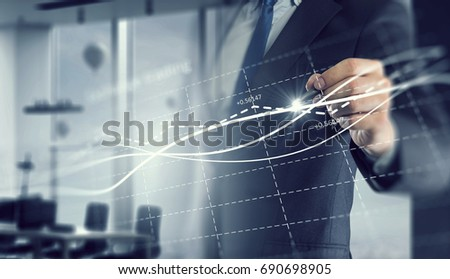 Dynamics of market growth #690698905