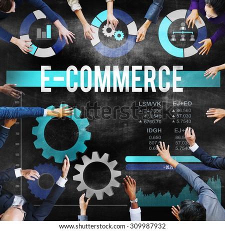 E-commerce Commercial Purchasing Digital Internet Concept
