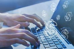e-commerce, online business profit, e-business, earn money on internet