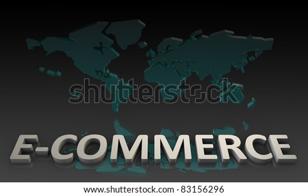 E-Commerce or Electronic Commerce Online as a Art