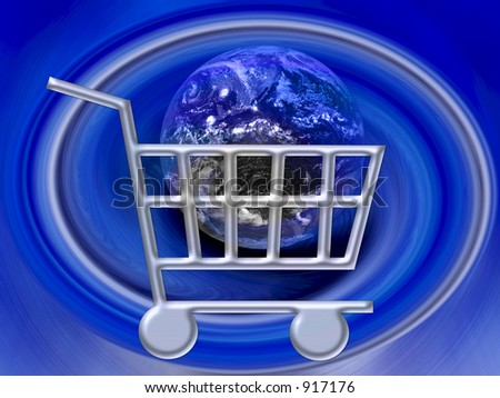E-commerce - Shopping Cart Internet WWW