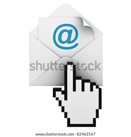 E mail - stock photo