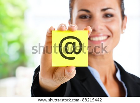 E-mail - stock photo