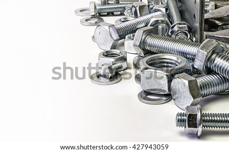 Each threaded fasteners bolts nuts. #427943059
