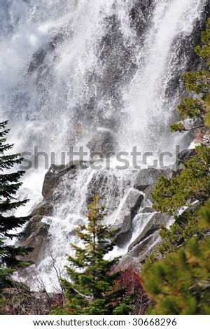 Eagle falls located at emerald bay on the west side of Lake Tahoe