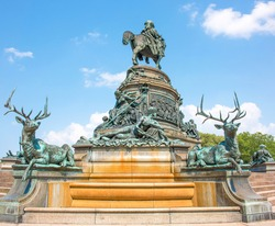 Eakins Oval (George Washington Fountain, The Washington Monument) Philadelphia Pennsylvania USA