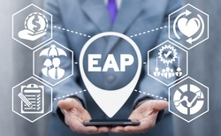 EAP Employee Assistance Program Business Concept.