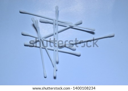 Ear cleaning tools with a white background. Ear cleaning equipment - Ear pricker