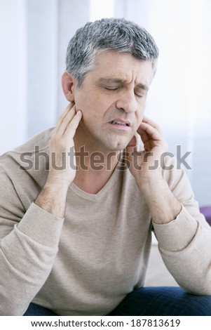 Ear Pain In A Man