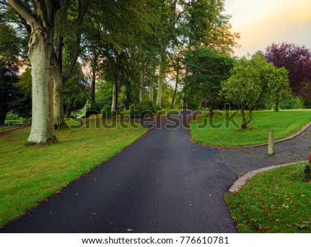 Early Autumn countryside morning,Northern Ireland - Shutterstock ID 776610781
