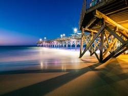 Early morning at South Carolina beach.