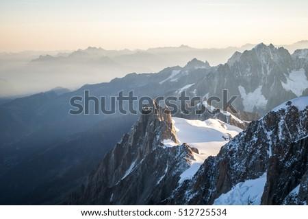 early morning near the summit - Shutterstock ID 512725534