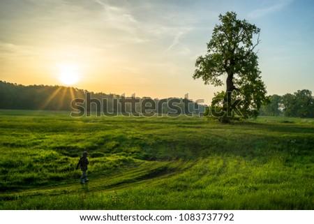 early morning walk #1083737792