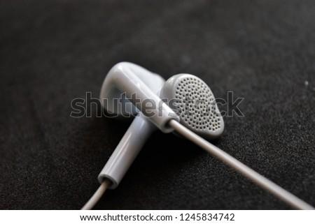 Earphones Earphones isolated Headphones Music accessories Bud Earbud Mp3