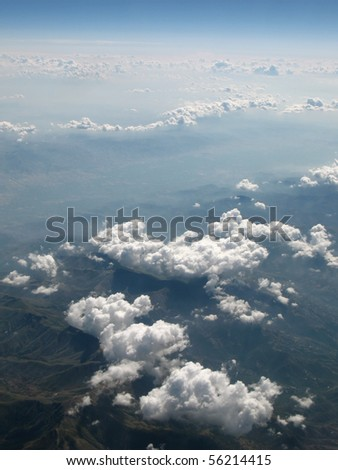earth, aerial view