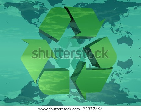 Earth and recycling