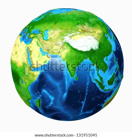 Earth Asia View