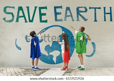 Earth Day Globe Icon Concept