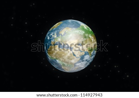 earth. Elements of this image furnished by NASA.