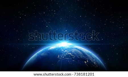 Earth from Space Ultra Background