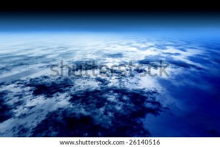 Earth from the sky